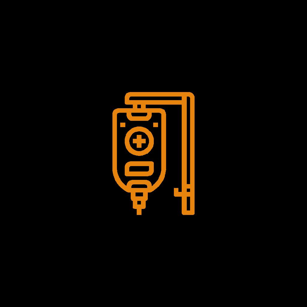 pompa infuzyjna - ikona