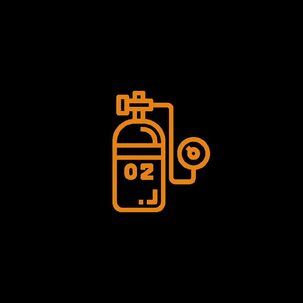 koncentrator tlenu -ikona